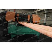 100mm Red Copper Pipes Continuous Casting Plant , Horizontal Casting Machine