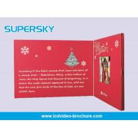 Quality Full Color Video In Print Brochure , LCD Video Brochure For Business wholesale