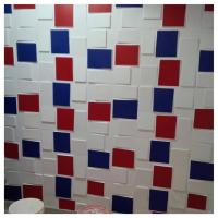 Quality Bathroom Plastic Rube 3D Decorative Wall Panels Non Toxic Panelling For Walls wholesale