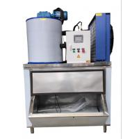 Quality Fast Cooling Low Power Automatic Flake Ice Maker 1000kg/24h Easy To Move wholesale