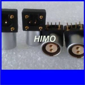 China 2pin push pull 1B series EPG lemo PCB panel mount receptacle connector on sale