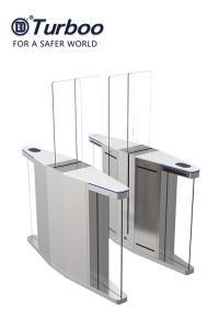 Quality Elegant Optical Pedestrian Turnstile Barrier Gate High Speed SUS304 Material wholesale