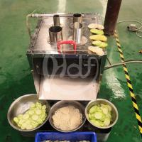 Quality Commercial Vegetable Slicer Machine / 1.5KW Electric Carrot Slicer Machine wholesale