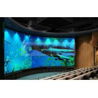 Quality Large curved screen 3D theatre cinema system with bubble snow rain lighting special effect system wholesale