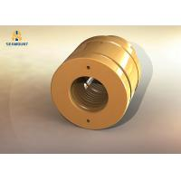 China CNC Machining Flanged Bronze Bushings Rust Resistant  Non Standard on sale