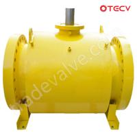Quality ASTM A105 Fully Welded Ball Valve, DN500, 600# TECV wholesale