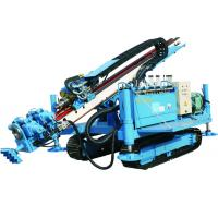 Cheap Great Torque Portable Drilling Rigs , Crawler Drilling Machines for sale