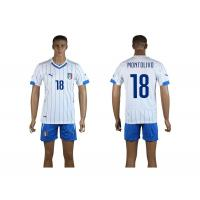 Quality Wholesale Newly hotest italy national team away kit 2014 World Cup Spain soccer jersey set wholesale