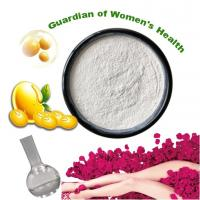 China White Powder Herbal Plant Extract , Soybean Germ Extract Powder 10% Antioxidants on sale