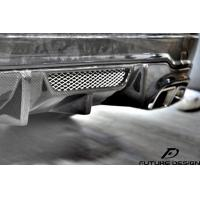 Quality Mercedes C63 AMG Carbon fiber vented Style Carbon fiber rear diffuser 2011~2013 wholesale