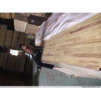 China iroko  finger jointed panels on sale