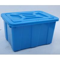 Quality HDPE Large Stackable Food storage box container wholesale
