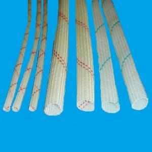 China braided fiberglass sleeving on sale