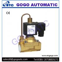 China Pilot Diaphragm Type Pneumatic Solenoid Valve with 5 Mpa High Pressure , DC 12V - 24V on sale