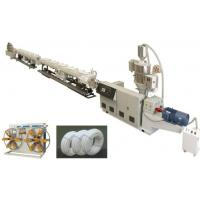 China High Performance PPR Pipe Extrusion Line , Ppr Pipe Making Machine CE / ISO on sale