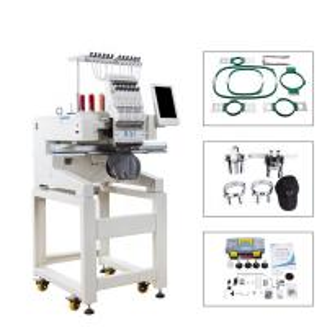 Quality 9/12 Needles Computerized Single Head Embroidery Machine Similar As Tajima wholesale