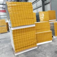 Quality 35 years 0.426mm Huamei steel brand 50mm mgo sandwich panels for clear room wholesale