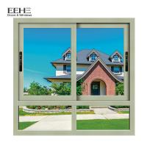 China Soundproof Wide Aluminium Windows And Doors / Aluminum Alloy Door Easy To Open on sale