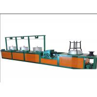 Quality Cast Iron Metal Automatic Wire Drawing Machine For Decreasing Wire Thickness 7.5 Hp wholesale