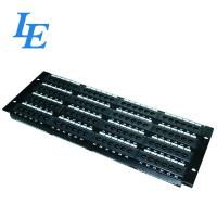 Quality 4U 96 Port Patch Panel UTP Type IDC Accept 22-26 AWG Phosphor Brone Material wholesale