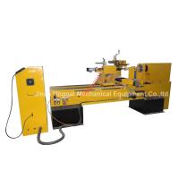 Quality CNC Wood Turning Broaching Engraving Machine with Single Axis Double Blades wholesale