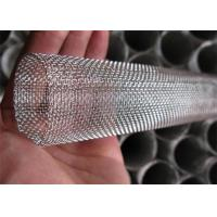 China Industrial 304 316 304L Stainless Steel Screen Roll , Fine Woven Wire Mesh on sale
