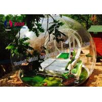 Quality 0.8MM Pvc Anti Clod Clear Dome Tent Transparent Bubble Tent Camping wholesale