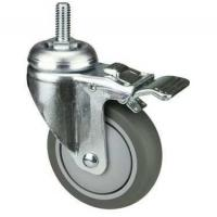 Quality OEM TPR Industrial Castors With PP Core For Medical Shopping Cart wholesale