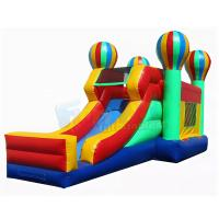 Quality Balloon Bounce House Commercial Inflatable Slide Combo 1 Year Warranty wholesale