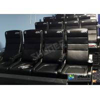 Quality Commercial 4D Cinema Theater With Arc / Flat Screen TMS Systems Compatible wholesale
