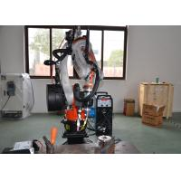 Buy cheap 6 Axis Arc Welding Robot Fast Speed Industrial Application Powerful High from wholesalers