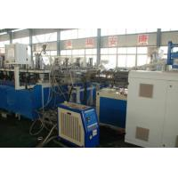 Quality Three Layer Construction Template WPC Extrusion Machine / Production Line Double Screw wholesale