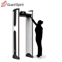 Quality LCD colorful screen Archway Metal Detector metal detector security gate with battery supply wholesale