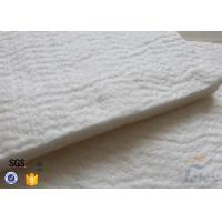 Quality High Silica Fiberglass Needle Mat For Thermal Insulation Jacket 125KG / M3 20MM wholesale