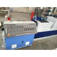 China PVC Plastic Granules Manufacturing Machine With Double Screw on sale
