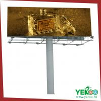 China Africa highway large steel double-sided billboard with 20 years lifespan on sale