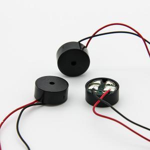 Wire 2731Hz 3 Volt Black PPO Power Electromagnetic Buzzer RoHs