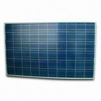 Quality 225W Polycrystalline Solar Panel with TÜV/CE Marks and Silver Anodized Aluminum Frame wholesale