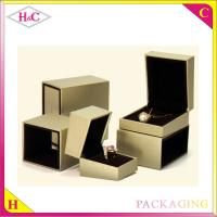 China Luxury paper jewelry packaging box on sale
