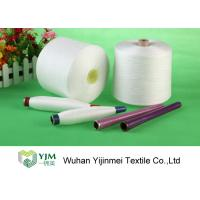 Cheap TFO 20s-60s Polyester Spun Yarn Raw White 100 Spun Polyester Sewing Thread High for sale