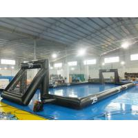 Quality 0.55 mm PVC Tarpaulin Inflatable Outdoor Soccer Field For Event wholesale