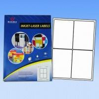 Buy cheap A4 Computer Labels/Avery Labels, Used for Lasers and Inkjet Printers, Customized Sizes Accepted from wholesalers