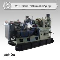 China water bore well drilling rig XY-8, large diameter and deep drilling on sale