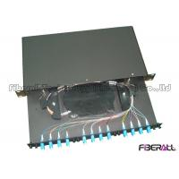 China High Density Fiber Optic Patch Panel With LC Pigtail Easy To Enlarge Capacity on sale