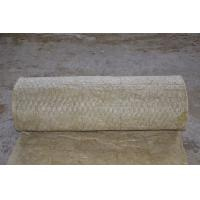 Cheap Fireproof Rockwool Insulation Blanket With Wire Mesh Custom for sale