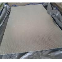 Quality Bright Silver Hot Rolled Steel Sheet Coil Chequered GB20 Grade Anti Slip wholesale