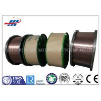 China High Carbon Copper Coated Steel Wire For Brush / Rubber Tube , 0.78-1.65 Wire Gauge on sale