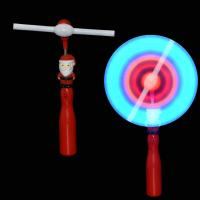 Quality Vinyl Santa Flashing Windmill Toy Popular Holiday Time Led Windmill For Fun wholesale