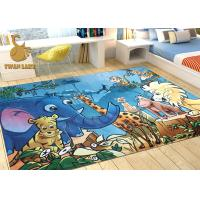 Quality 3D Digital Print Soft Area Carpet For Children's Playrooms Mildew Proof wholesale