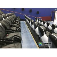 Quality Exciting 5D Cinema Equipment , 5D Luxury Motion Seats With Vibration Effect In Mall wholesale